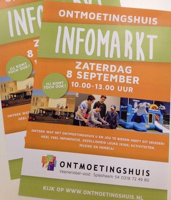 Ontmoetingshuis Veenendaal-oost 8 september infomarkt
