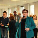 Wethouder Arianne Hollander Veenrijk Veenderij startbouw